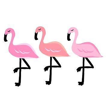 The Three Flamingos by andreirose