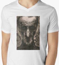 Ink Face Men's V-Neck T-Shirt
