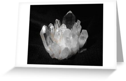 Quartz Crystals by May Lattanzio