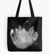 Quartz Crystals Tote Bag