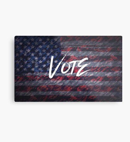 Vote for Democracy Metal Print