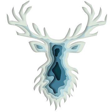 Deer by Turiddu