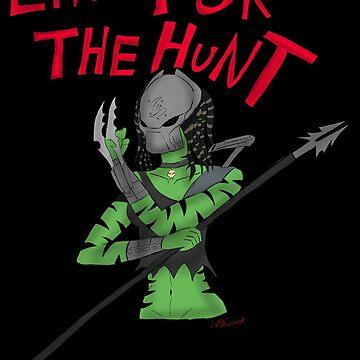 Live for the Hunt by BlackSkull13