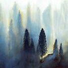 « Forêt bleue » par Laura Frère