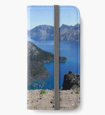 Crater Lake Volcanic Crater Oregon USA iPhone Wallet/Case/Skin