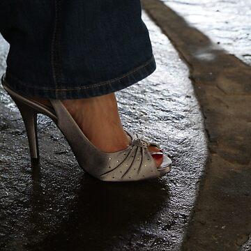 Denim and Heels by RodriguezArts