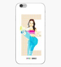 Spice Girls Mel C in letter E iPhone Case