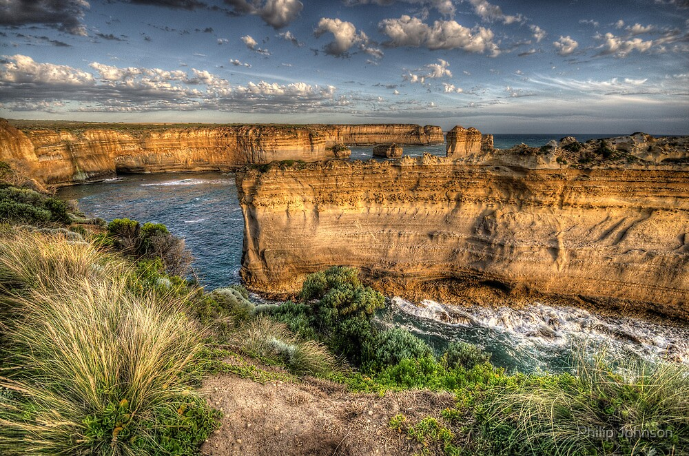 Separated By Time - Great Ocean Road - The HDR Experience by Philip Johnson