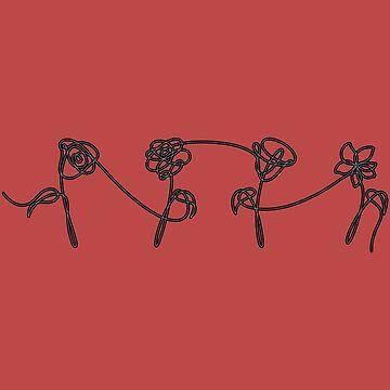 BTS Flowers by soondoock