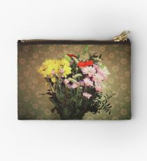 flowers for her Zipper Pouch