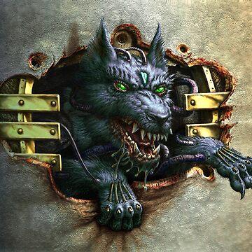 Cyberwolf by tonyhough