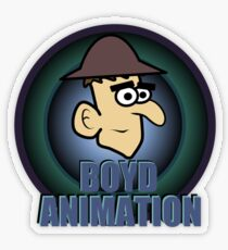Boyd Animation Logo Transparent Sticker