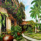 Patio del Hotel Camagüey by Dominica Alcantara