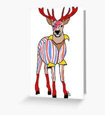 Deervid Bowie Greeting Card