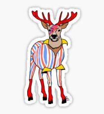 Deervid Bowie Glossy Sticker