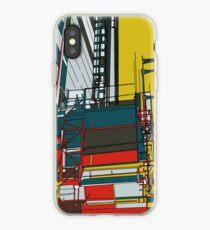 London construction doodle iPhone Case