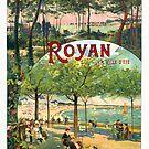 « Affiche de Royan 1900 » par Francois Richet
