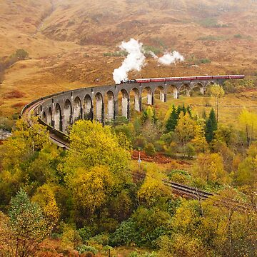 Glenfinnan Viaduct by chuckirina
