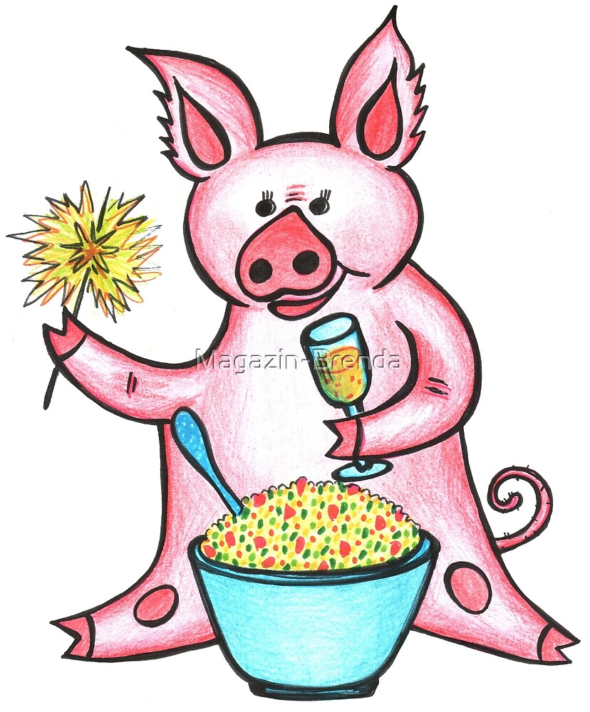 Year of the pig by Magazin-Brenda