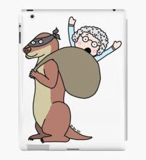 Gran Theft Otter iPad Case/Skin