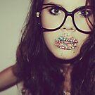 Do i have something on my lip? by Hayleyschreiber