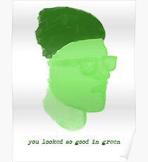 green cavetown Poster