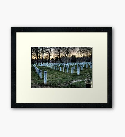 Hallowed Ground Framed Print