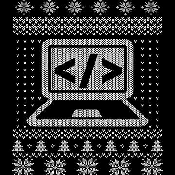 Ugly Computer Programmer Funny Christmas Apparel by CustUmmMerch