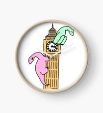 Dinosaurs on Big Ben Clock
