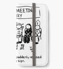 Catholic Meeting iPhone Wallet/Case/Skin