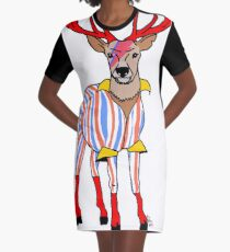 Deervid Bowie Graphic T-Shirt Dress