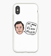 My Name Is Elon Musk iPhone Case