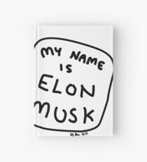 My Name Is Elon Musk Hardcover Journal