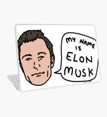 My Name Is Elon Musk Laptop Skin