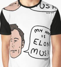 My Name Is Elon Musk Graphic T-Shirt
