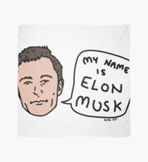 My Name Is Elon Musk Scarf
