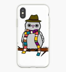Dr Hoo iPhone Case