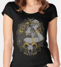 THE WITCH Women's Fitted Scoop T-Shirt
