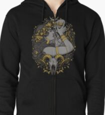 THE WITCH Zipped Hoodie
