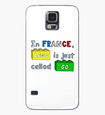 French Lego Case/Skin for Samsung Galaxy