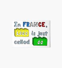 French Lego Art Board