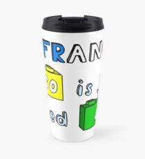 French Lego Travel Mug