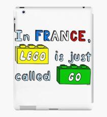 French Lego iPad Case/Skin