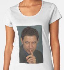 Jeff Goldblum Women's Premium T-Shirt