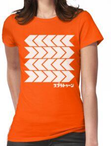 Takoroka Red Vector Tee Womens Fitted T-Shirt