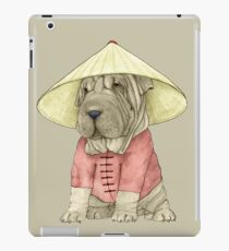 Shar Pei on The Great Wall iPad Case/Skin