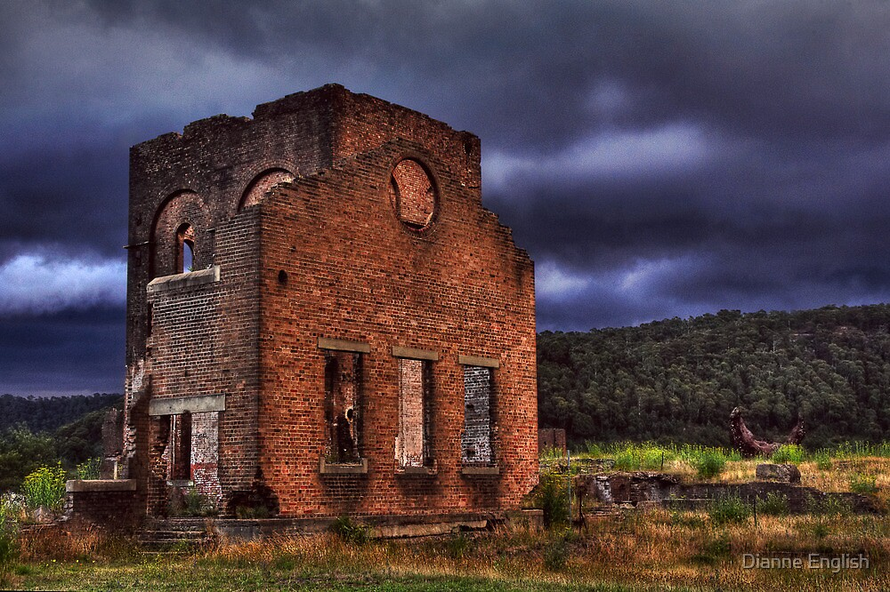 Lithgow Blast Furnace by Dianne English