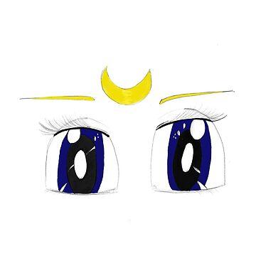 Sailor mon eyes by sarakh95