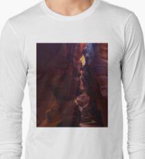 Antelope Canyon Fine Light Beams Long Sleeve T-Shirt