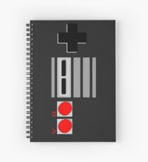NES - Nintendo Entertainment System 2nd Design Spiral Notebook